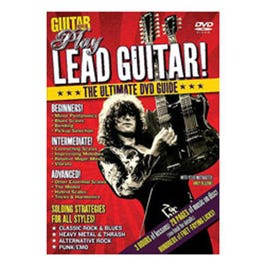 Image for Guitar World: Play Lead Guitar! (DVD) from SamAsh