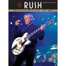 Image for Rush: Deluxe Guitar TAB Collection 1975 - 2007 (TAB) from SamAsh
