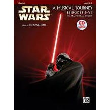 Image for Star Wars® Instrumental Solos (Movies I-VI)-Clarinet (Book and CD) from SamAsh
