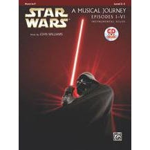 Alfred Star Wars® Instrumental Solos (Movies I-VI) French Horn (Book and CD)