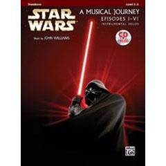 Image for Star Wars® Instrumental Solos (Movies I-VI) Trombone (Book and CD) from SamAsh