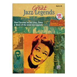 Image for Meet the Great Jazz Legends (Book and CD) from SamAsh