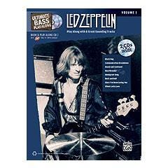 Image for Ultimate Bass Play-Along: Led Zeppelin, Volume 1 (Book and 2CDS) from SamAsh