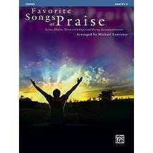 Alfred Favorite Songs of Praise for Clarinet