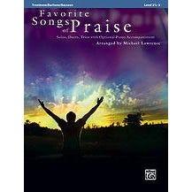 Alfred Favorite Songs of Praise -Trombone/Baritone/Bassoon/Tuba