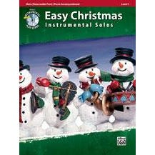 Alfred Easy Christmas Instrumental Solos, Level 1 for Strings