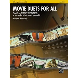 Image for Movie Duets for All (Trumpet) from SamAsh