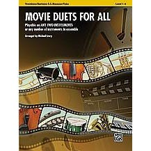 Image for Movie Duets for All (Trombone) from SamAsh