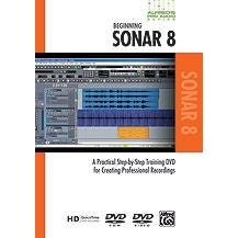 Image for Alfred's Pro Audio Series: Beginning Sonar 8 (DVD) from SamAsh