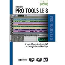 Image for Alfred's Pro Audio Series: Beginning Pro Tools LE 8 (DVD) from SamAsh