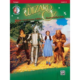 Alfred The Wizard of Oz Instrumental Solos -Trumpet (Book and CD)