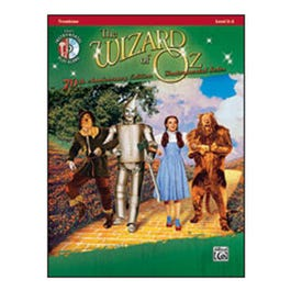Image for The Wizard of Oz Instrumental Solos -Trombone (Book and CD) from SamAsh