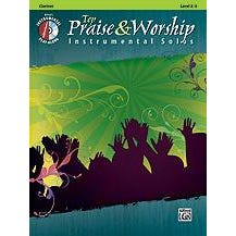 Image for Top Praise & Worship Instrumental Solos for Clarinet (Book and CD) from SamAsh
