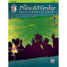 Image for Top Praise & Worship Instrumental Solos for Trombone (Book and CD) from SamAsh