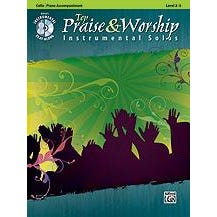 Image for Top Praise & Worship Instrumental Solos for Strings for Cello (Book and CD) from SamAsh
