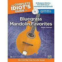 Image for The Complete Idiot's Guide to Bluegrass Mandolin Favorites (Book and 2CDS) from SamAsh