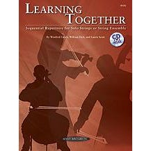 Image for Learning Together-String Bass (Book and CD) from SamAsh