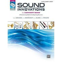 Alfred Sound Innovations for Concert Band, Book 1-E-Flat Alto Clarinet-Book, CD & DVD