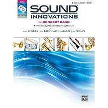 Alfred Sound Innovations for Concert Band, Book 1-Bb Bass Clarinet (Book CD DVD)
