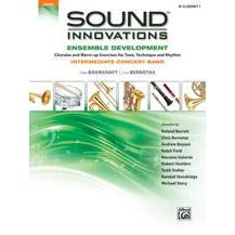 Alfred Sound Innovations for Concert Band: Ensemble Development for Intermediate Concert Band-B-Flat Clarinet 1