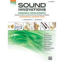 Alfred Sound Innovations for Concert Band: Ensemble Development for Intermediate Concert Band-B-Flat Clarinet 2