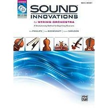 Alfred Sound Innovations for String Orchestra, Book 1-String Bass (Book CD DVD)
