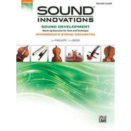 Alfred Sound Innovations for String Orchestra: Sound Development (Intermediate)