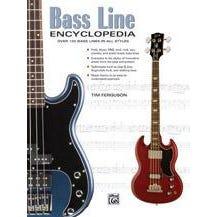 Alfred Bass Line Encyclopedia -  Bass Guitar -  Book