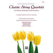 Image for Classic String Quartets for Festivals, Weddings, and All Occasions (Violin 2) from SamAsh