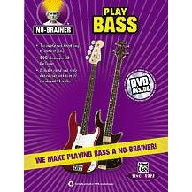 Image for No-Brainer: Play Bass (Book and DVD) from SamAsh