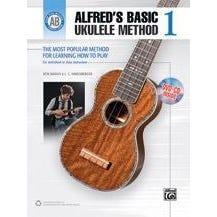 Alfred Alfred's Basic Ukulele Method 1 -Book, CD & DVD