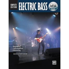Alfred Electric Bass Method Complete-Bass Guitar Book & Online Audio