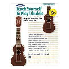 Image for Alfred's Teach Yourself to Play Ukulele, C-Tuning Edition (Book/CD/DVD) from SamAsh
