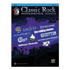 Image for Classic Rock Instrumental Solos for Flute (Book and CD) from SamAsh