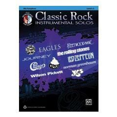 Image for Classic Rock Instrumental Solos for Alto Saxophone (Book and CD) from SamAsh