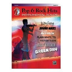 Image for Pop & Rock Hits Instrumental Solos-Clarinet (Book and CD) from SamAsh