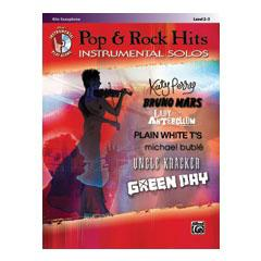 Image for Pop & Rock Hits Instrumental Solos-Alto Saxophone (Book and CD) from SamAsh