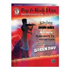 Image for Pop & Rock Hits Instrumental Solos-Tenor Saxophone (Book and CD) from SamAsh