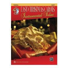 Image for Easy Christmas Carols Instrumental Solos-Trombone (Book and CD) from SamAsh