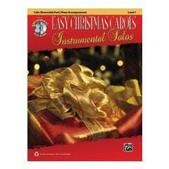 Image for Easy Christmas Carols Instrumental Solos for Strings-Cello (Book and CD) from SamAsh
