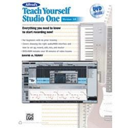 Image for Alfred's Teach Yourself Studio One, Version 2.0 (Book and DVD) from SamAsh