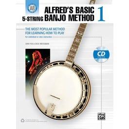 Alfred Alfred's Basic 5-String Banjo Method 1-Banjo Book & CD