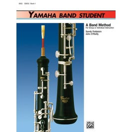Image for Yamaha Band Student Book 1 for Oboe from SamAsh