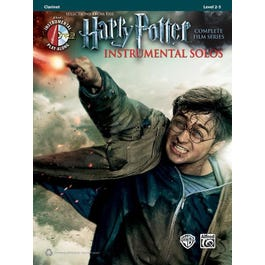 Alfred Harry Potter Instrumental Solos-Clarinet - Book & CD