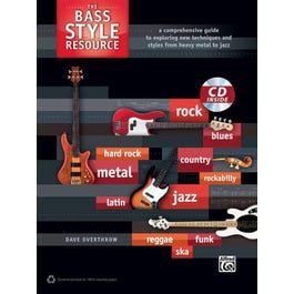 Alfred The Bass Style Resource- Bass Guitar Book & CD