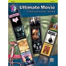Image for Ultimate Movie Instrumental Solos -Clarinet-Book & CD from SamAsh