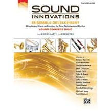 Alfred Sound Innovations for Concert Band: Ensemble Development for Young Concert Band-Conductor's Score