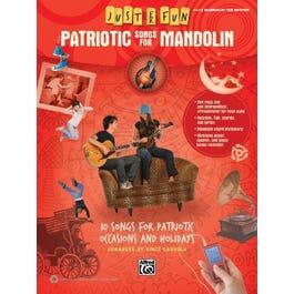 Alfred Just for Fun: Patriotic Songs for Mandolin-Easy Mandolin TAB Book