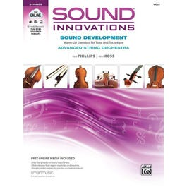 Alfred Sound Innovations for String Orchestra: Sound Development (Advanced) -Viola Book