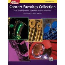 Alfred Accent on Performance Concert Favorites Collection -Score